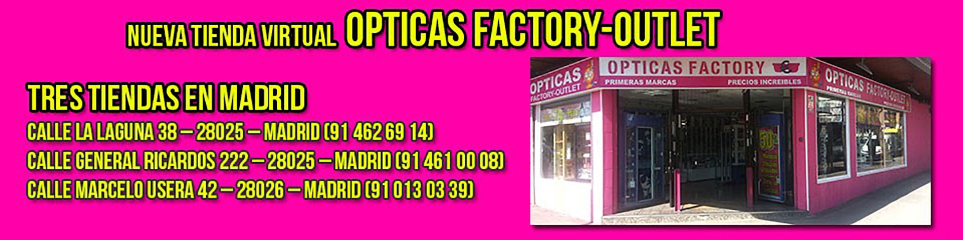 Ópticas Factory Outlet